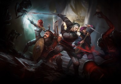 The Witcher Adventure Game Artwork