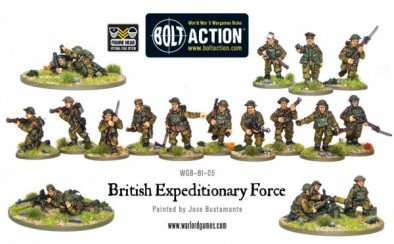 British Expeditionary Force Miniatures