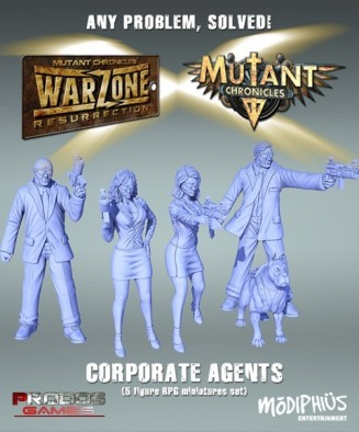 Corporate Agents Models