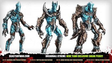 DreadBall Xtreme: New Team Exclusive Sneak Peek!!!