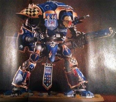 Imperial Knight (Blue)
