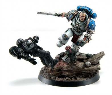 Kharn the Bloody Without Helmet
