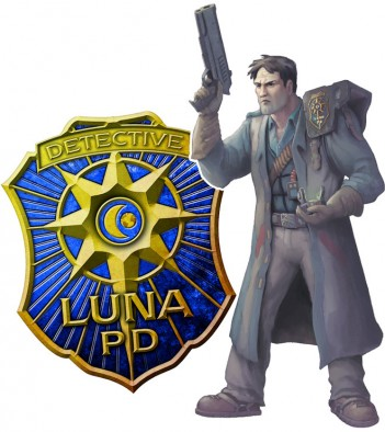 Luna PD Art