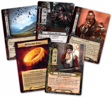 The Road Darkens Cards