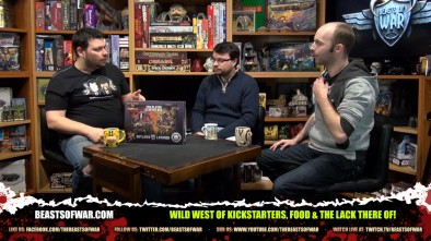 Wild West of Kickstarters, Food & the lack there of!