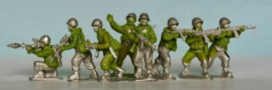 28mm Cold War Soviet Motorized Infantry #1