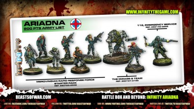 Battle Box and Beyond: Infinity Ariadna