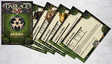 Brood Faction Cards