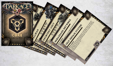 CORE Faction Cards