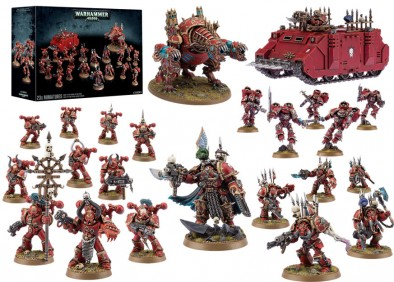 Chaos Space Marine Attack Force