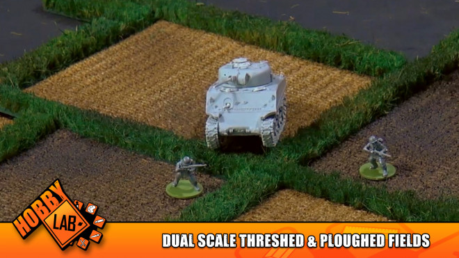 Hobby Lab: Dual Scale Threshed & Ploughed Fields