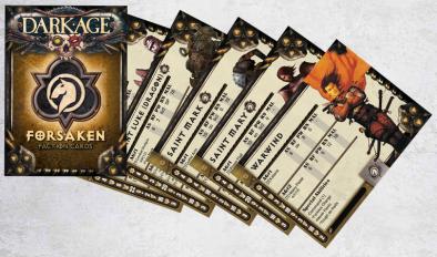 Forsaken Faction Cards