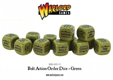 Rounded Green Dice