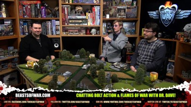 The Weekender: Chatting Bolt Action & Flames of War with Dr. Dave!