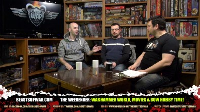 The Weekender: Warhammer World, Movies & BoW Hobby Time!
