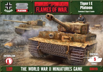 Tiger IE Platoon Cover