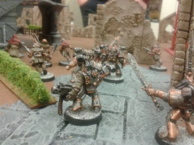 Warband Charges
