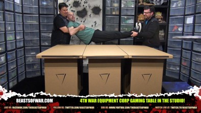 4th War Equipment Corp Gaming Table in the Studio!