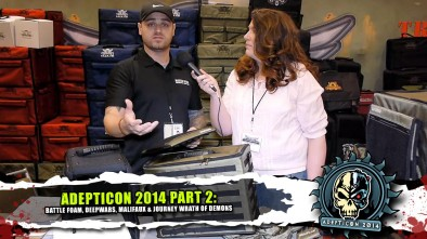 AdeptiCon 2014 Part 2: Battle Foam, Deepwars, Malifaux & Journey Wrath of Demons