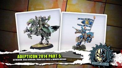 AdeptiCon 2014 Part 5: Aetherium, Ninja Devision, Privateer Press & Winged Hussar!