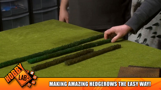 Hobby Lab: Making Amazing Hedgerows The Easy Way!