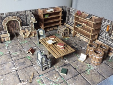 Fantasy Dungeon Library