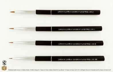 Games and Gears Ichiban Paint Brushes 2