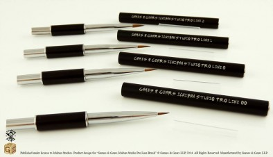 Games and Gears Ichiban Paint Brushes