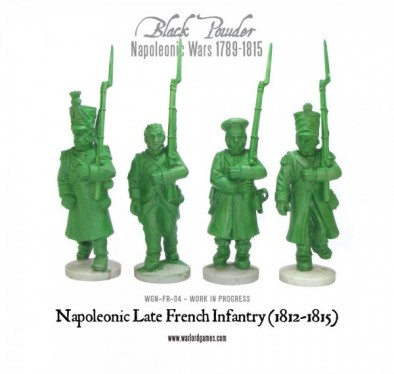 Napoleonic Late French Infantry