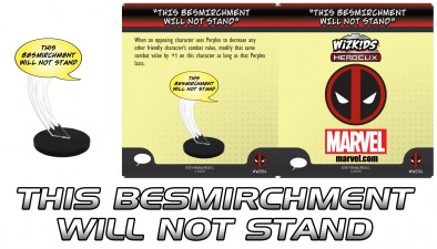 This Besmirchment Will Not Stand