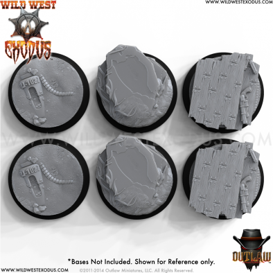 Wild West Exodus Base Inserts Top View