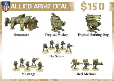 Allied Army Deal