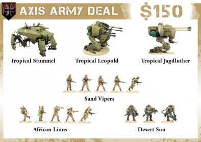 Axis Army Deal
