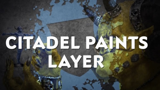 Games Workshop Painting Tutorial: Layer Paints