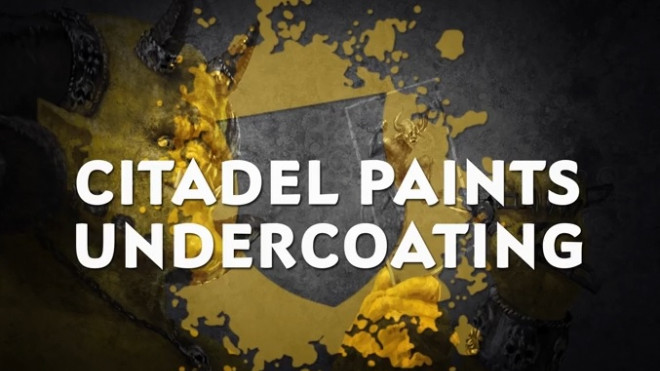 Games Workshop Painting Tutorial: Undercoating!