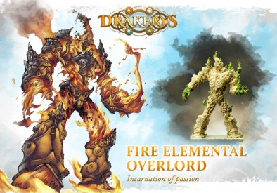Fire Elemental Overlord