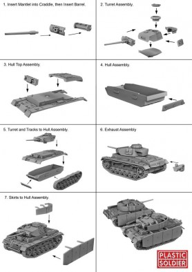 German Panzer III Assembly