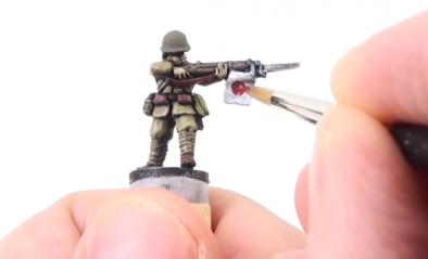 Painting Japanese Infantry