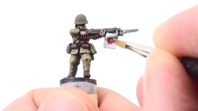 Flames of War: Painting Japanese Infantry