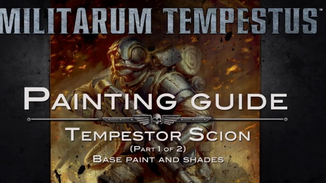 Games Workshop Painting Tutorial: Tempestor Scion Part 1