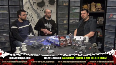 The Weekender: Back From Ficzone & May The 4th Ideas!
