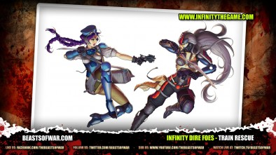 What's In The Box: Infinity Dire Foes: Train Rescue!