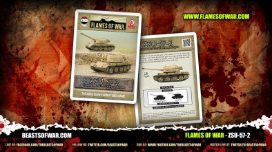 What's in the Box: Flames of War ZSU-57-2