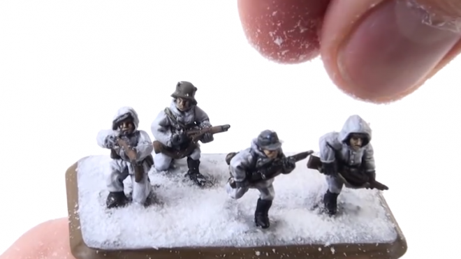 Flames of War Painting Finnish Infantry