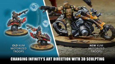 Changing Infinity's Art Direction With 3D Sculpting