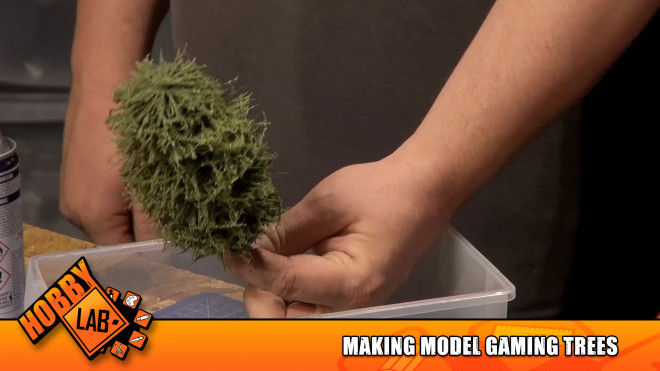 Hobby Lab: Making Model Gaming Trees (It's Fast & Fun!)