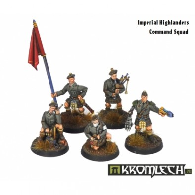 Imperial Highlanders Command Squad