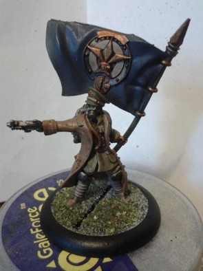 Imperial Officer with Banner