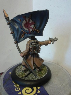 Imperial Officer with Banner (Rear)