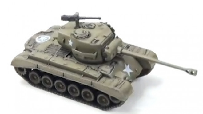 Flames Of War: Painting The M26 Pershing Tank
